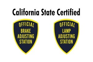Brake Lamp Certification San Diego
